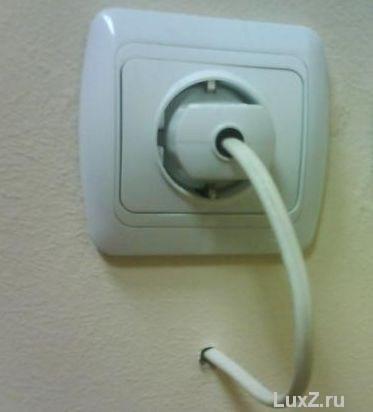 Как сделать выключатель на розетку